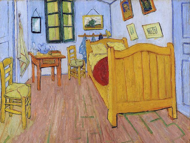 Terza media,  il   test  Invalsi di  matematica con Van GoghLe domande