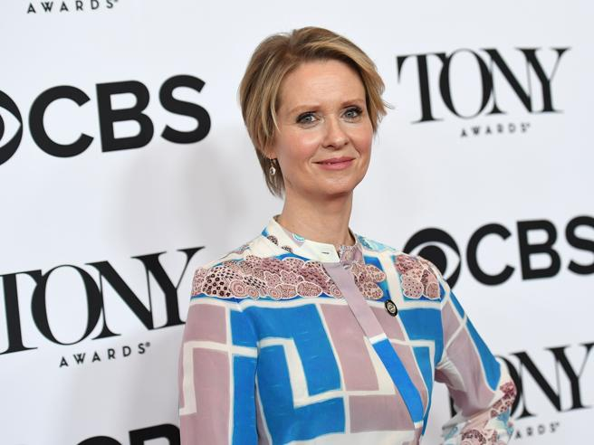 L'attrice Cynthia Nixon si candida a  governatrice  di New York - Il video
