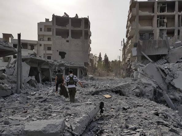 La maggior parte dei civili ha lasciato Ghuta