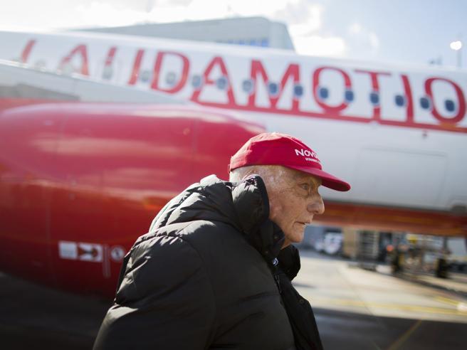 Aerei, Ryanair rileva un quarto della  compagnia di Niki Lauda