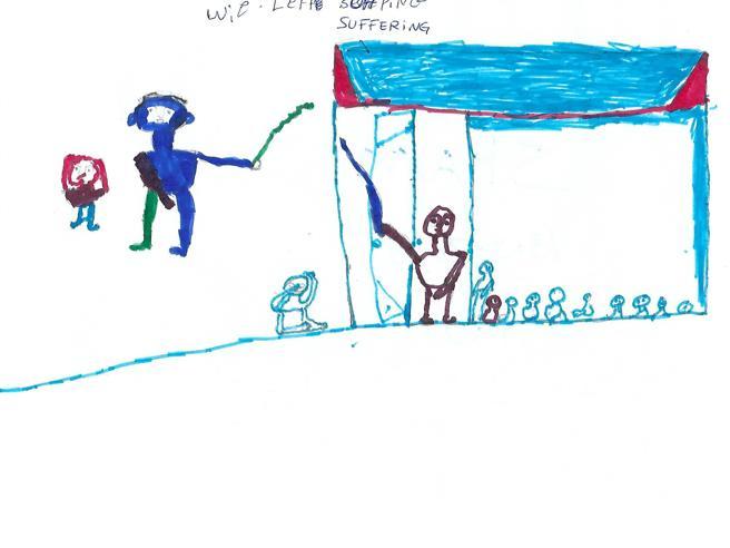 I disegni dei minori eritrei sbarcati a Pozzallo: «Siamo passati dal buio alla luce»