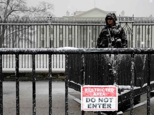 Sugli Usa  nuova ondata di gelo Casa Bianca chiusa  foto|video