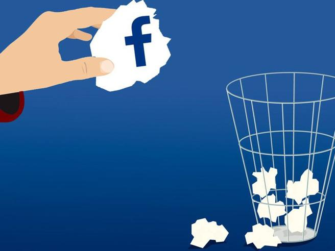 Eliminazione totale o disattivazione? Come fare per cancellarsi da Facebook