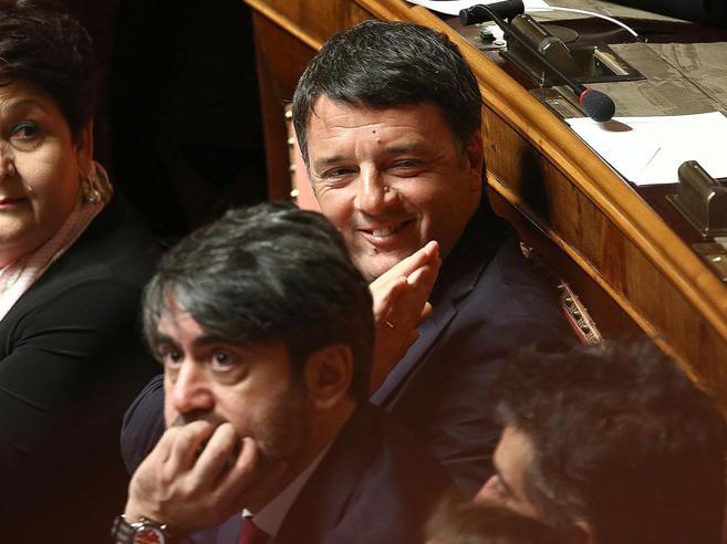 L'esordio (abbronzato)di Renzi in Senato: «Orastarò zitto