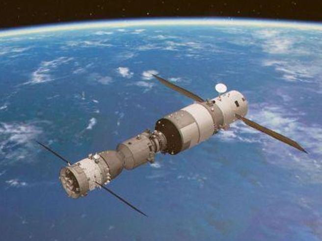 Stazione spaziale cinese alla deriva, rischio caduta sull'Italia   a  Pasqua