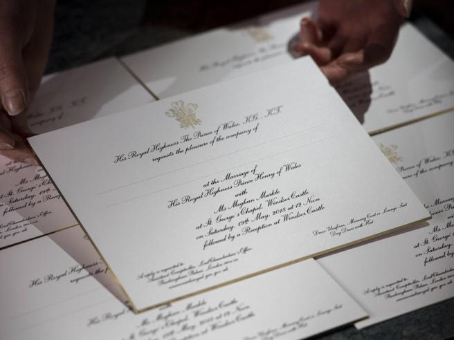 Harry e Meghan Markle, partiti gli inviti del matrimonio