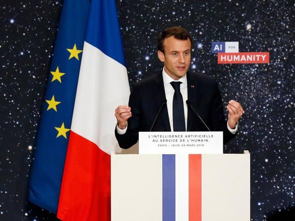 Macron invierà soldati in Siria