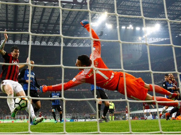 Image result for handanovic milan inter