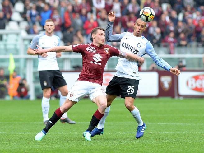 L'Inter spreca, Ljajic la castiga Festa Toro|La classificaNapoli, rimonta show Lazio vince, Roma agganciata