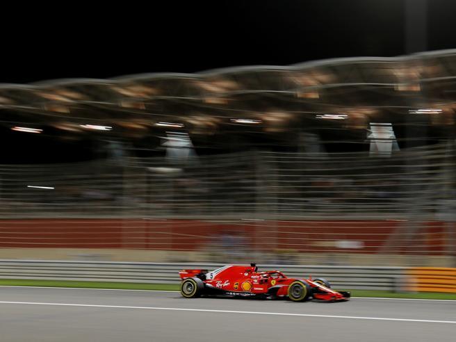 Trionfo Ferrari nel Gp del Bahrain: vince Vettel, un capolavoro di resistenza