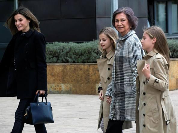 Reali di Spagna, fulmini e saette tra Letizia e la suocera Sofia
