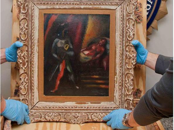 Non sa vendere lo chagall rubato dopo trent anni lo porta - Porta alla rovina otello ...