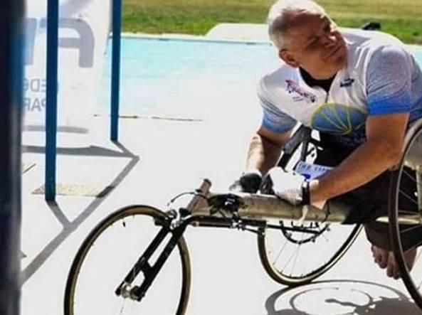 Cagliari, rubata carrozzina all'atleta disabile Walter Puddu: