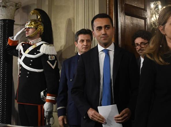 Governo, Di Maio avverte Salvini: tra poco chiudo uno dei due forni