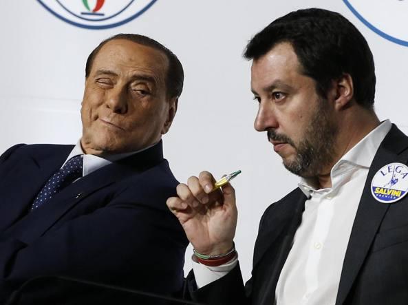 Berlusconi contro Lega e Fdi