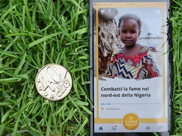 40 centesimi per sfamare un bambino al giorno