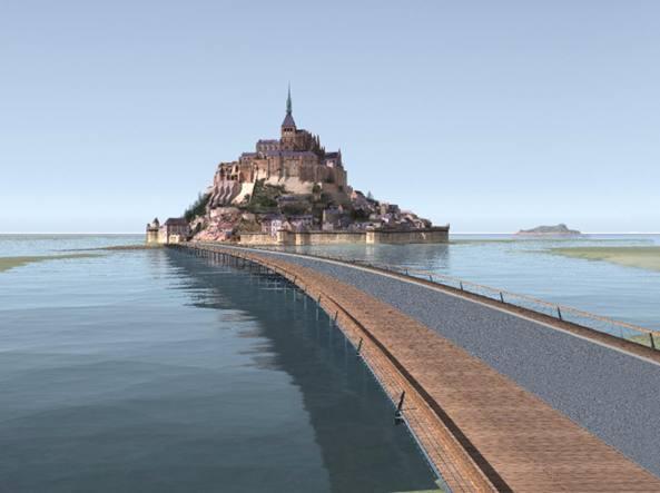 Francia, evacuazione a Mont-Saint-Michel: caccia ad un sospetto