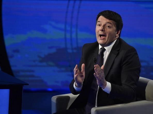 Spallata di Renzi a Di Maio: