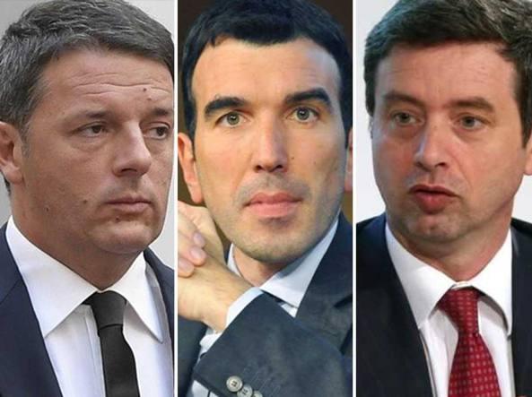 Documento renziani: no conte interne Pd, mai fiducia a Lega-M5S