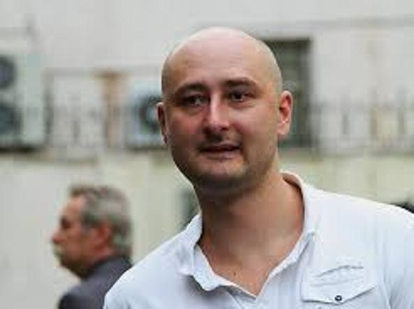 Vivo il reporter russo Babchenko