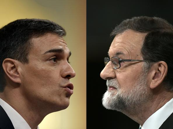 Spagna, Rajoy sfiduciato, Sanchez il nuovo premier:
