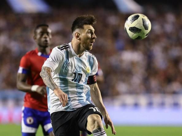I palestinesi non vogliono che Messi giochi l'amichevole contro Israele