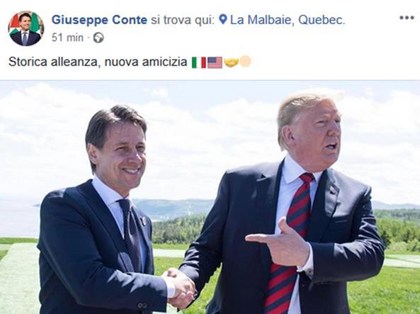 Trump lascerà il G7 in anticipo per volare da Kim