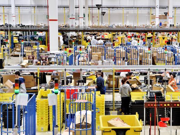 Amazon:Ispettorato, assuma 1.300 persone - Emilia-Romagna