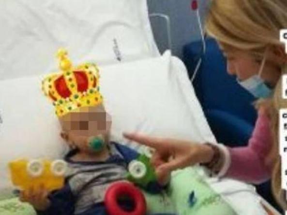 Bimbo malato di cancro, Elena Santarelli: