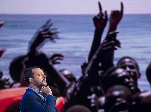 Matteo Salvini Live su Facebook: