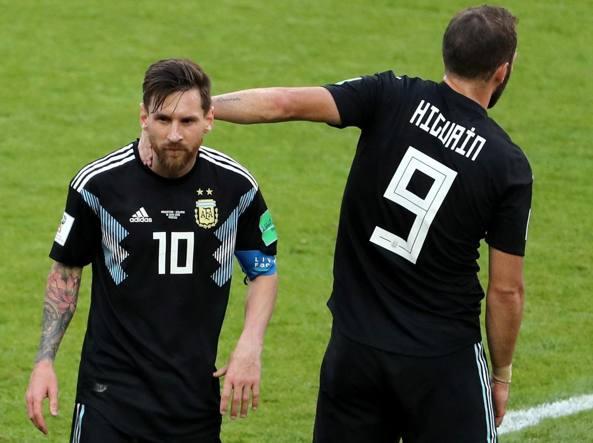 Argentina, Messi: