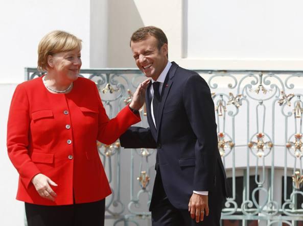Merkel a Conte: