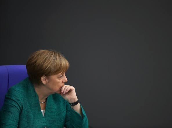 Giuseppe Conte e Angela Merkel: nessun accordo sui migranti secondari