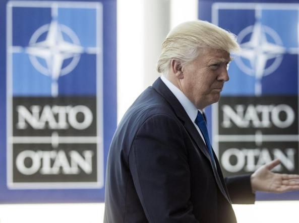 Nato, Trump: