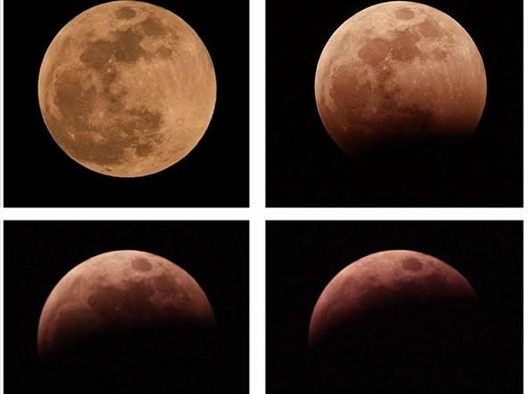 Eclissi di Luna più lunga del secolo, osservazioni a Selvazzano
