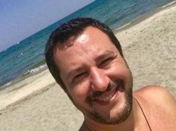 Salvini a Milano Marittima: