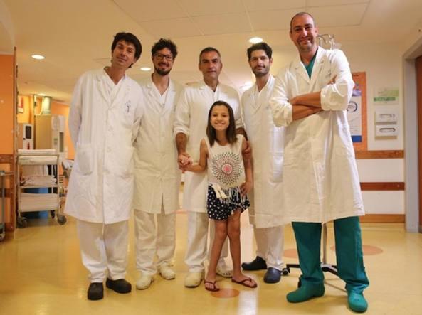 Bambina brasiliana salvata dai medici del Meyer di Firenze