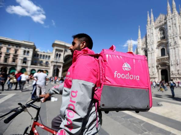 Foodora, è ufficiale l'addio all'Italia: