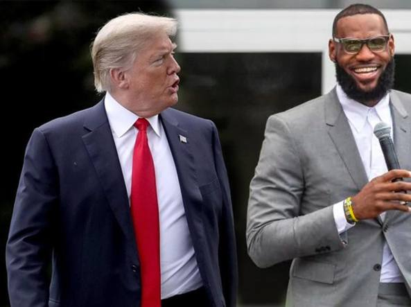 Donald Trump ha dato dello scemo a LeBron James
