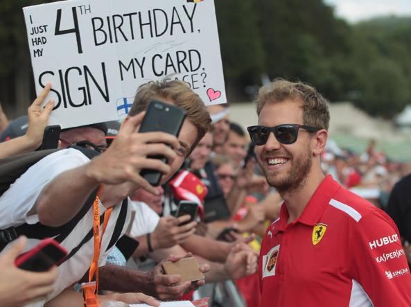F1: Vettel, a Monza con ottimismo