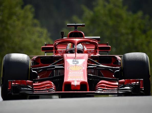 F1: Belgio, Ferrari domina terze libere