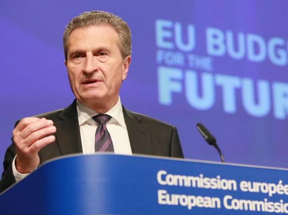 Ue, Oettinger: