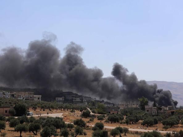 Raid su Idlib, uccisa una neonata
