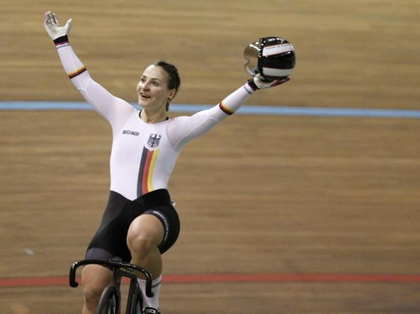 Ciclismo, Kristina Vogel: