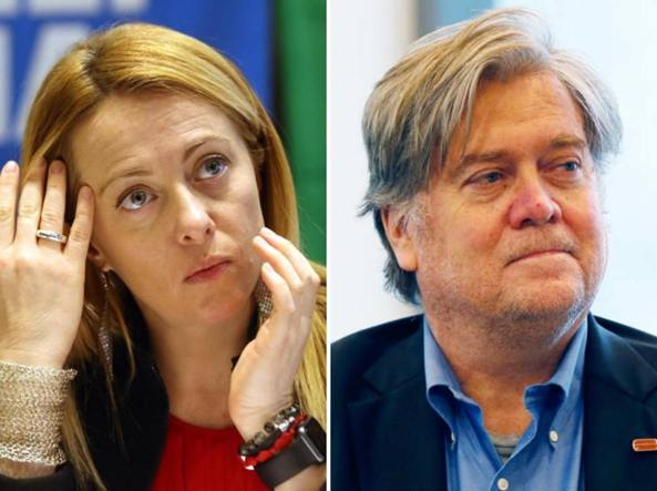 Bannon a Roma per The Movement: Salvini è leader mondiale