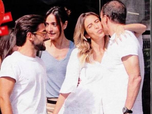 Piero Barone de Il Volo sta con Valentina Allegri, incontro con Ambra e Massimiliano Allegri