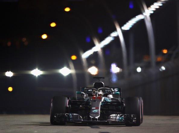 F1, GP Singapore 2018, Hamilton: