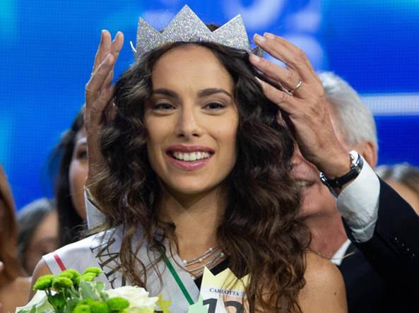 Miss Italia, corona