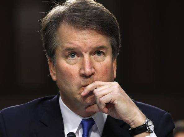 In Senato l'accusatrice del giudice Kavanaugh: