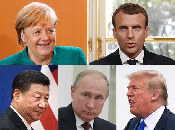 Il mondo ama Angela più di The Donald ma vuole la guida Usa